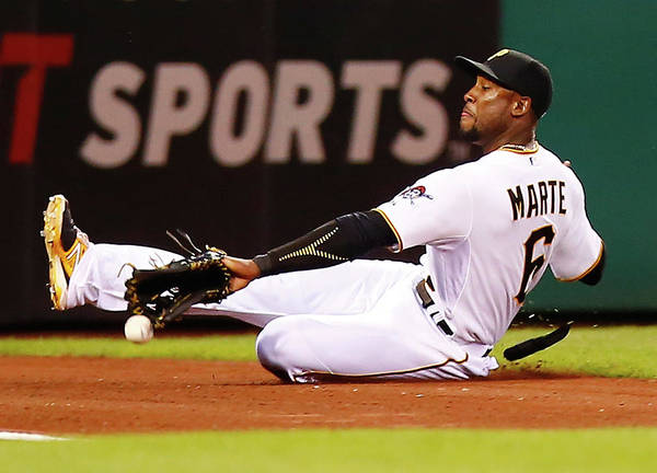 People Art Print featuring the photograph Starling Marte by Jared Wickerham