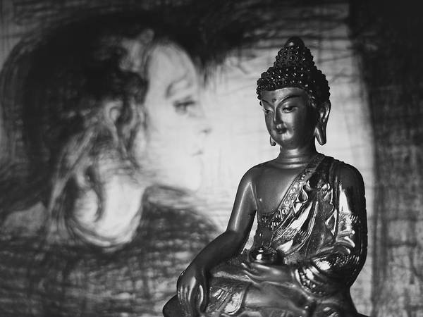 Buddha Art Print featuring the photograph The Healer by Barista Uno