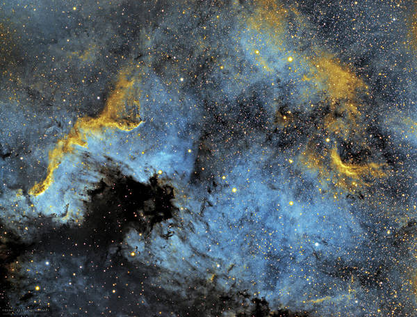 Nebula Art Print featuring the photograph The North America Nebula by Prabhu Astrophotography