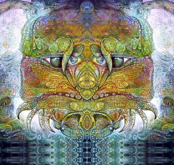 \bogomil Variations\ \otto Rapp\ \ Michael F Wolik\ Art Print featuring the digital art Bogomil Variation 11 by Otto Rapp