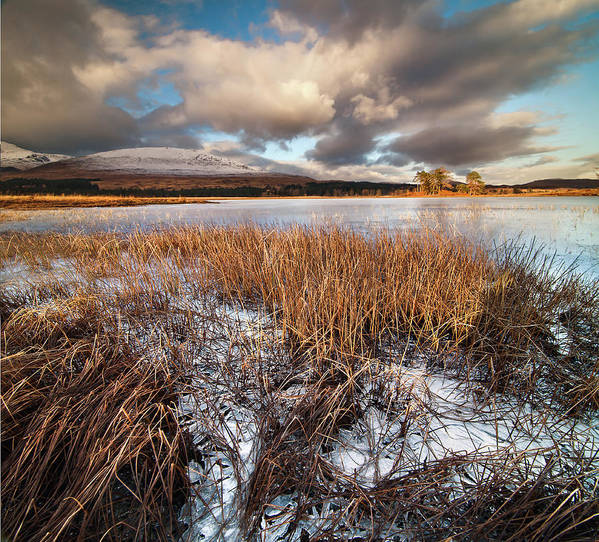 Tranquility Art Print featuring the photograph Loch Tulla by Image By Peter Ribbeck