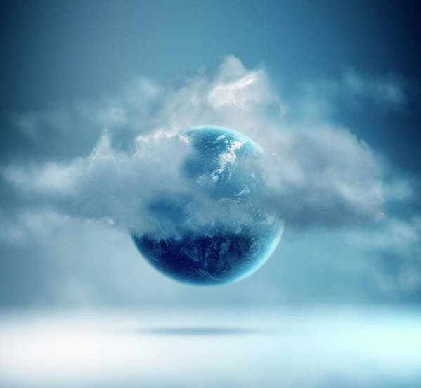 Tranquility Art Print featuring the photograph The New World Of Cloud Computing by Colin Anderson