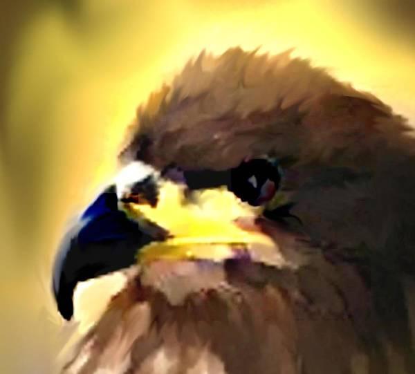 Digital Art Print featuring the digital art Birds 2 by Crystal Webb