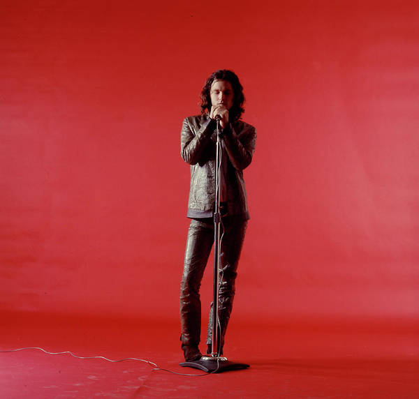 Rock Music Art Print featuring the photograph Jim Morrison by Yale Joel