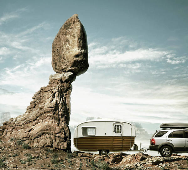 Camping Art Print featuring the photograph Careless Camping by Colin Anderson