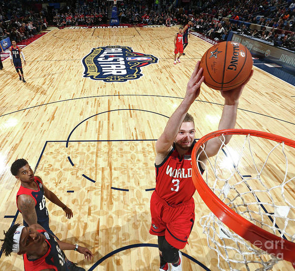 Event Art Print featuring the photograph Domantas Sabonis by Nathaniel S. Butler
