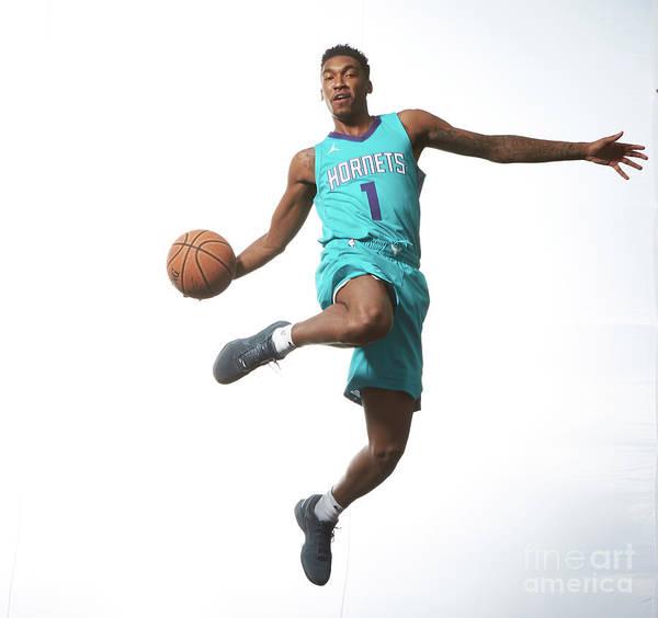 Nba Pro Basketball Art Print featuring the photograph Malik Monk by Nathaniel S. Butler