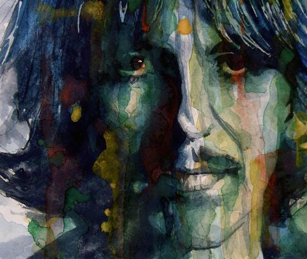 George Harrison Art Print featuring the painting Within You Without You by Paul Lovering