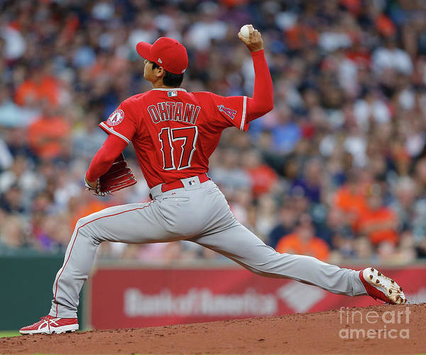 Second Inning Art Print featuring the photograph Los Angeles Angels Of Anaheim V by Bob Levey