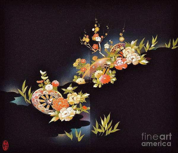 Art Print featuring the digital art Spirit of Japan H1 by Miho Kanamori