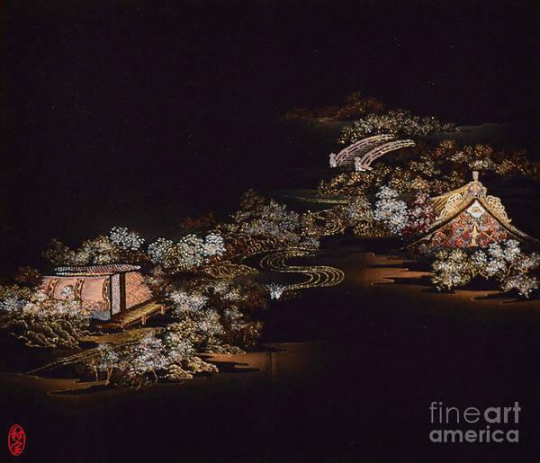 Art Print featuring the digital art Spirit of Japan H25 by Miho Kanamori