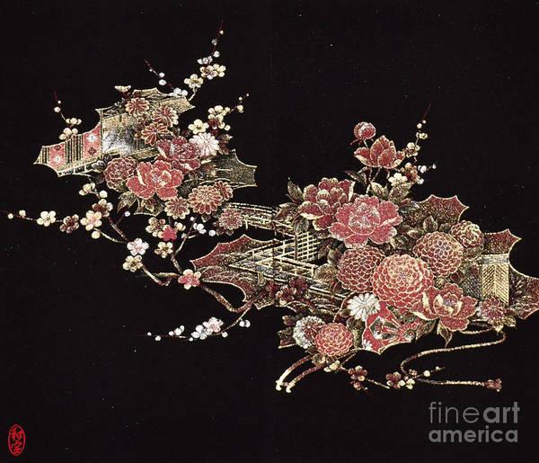 Art Print featuring the digital art Spirit of Japan H26 by Miho Kanamori