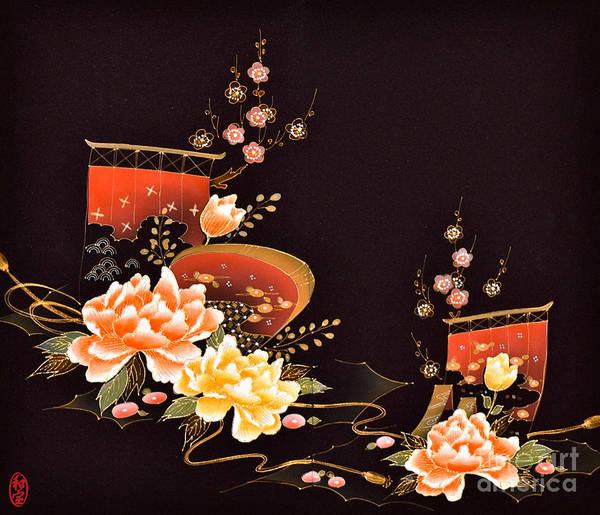 Art Print featuring the digital art Spirit of Japan H6 by Miho Kanamori