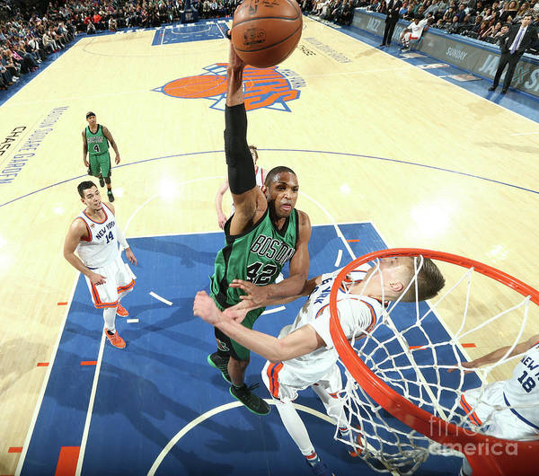 Nba Pro Basketball Art Print featuring the photograph Al Horford by Nathaniel S. Butler