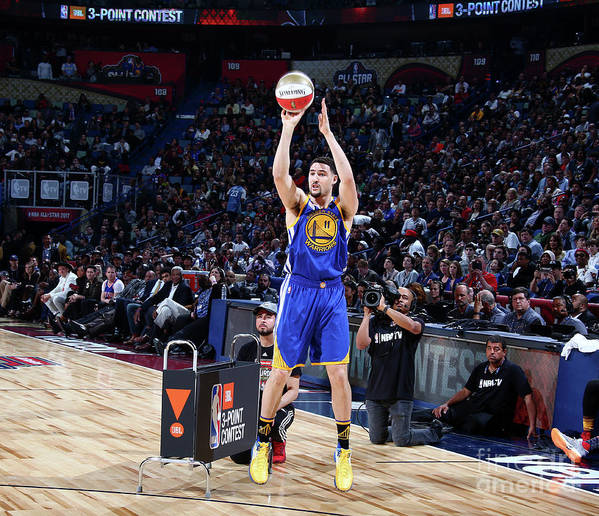 Event Art Print featuring the photograph Klay Thompson by Nathaniel S. Butler