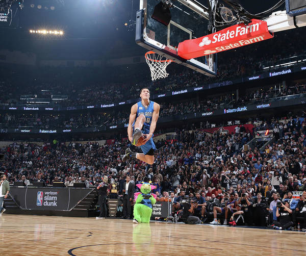 Event Art Print featuring the photograph Aaron Gordon by Nathaniel S. Butler