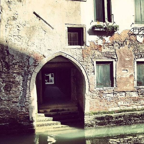 Europe Art Print featuring the photograph #mgmarts #venice #italy #europe by Marianna Mills