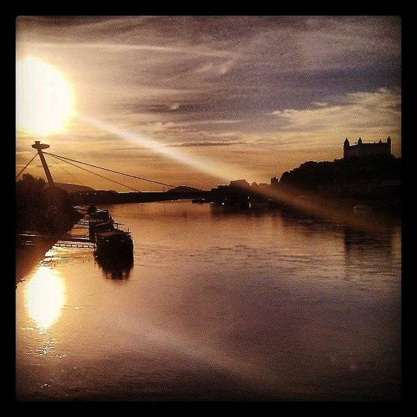 Bridge Art Print featuring the photograph Instagram Photo by R K