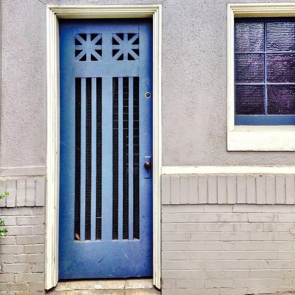 Blue Door Art Print featuring the photograph Blue Door by Julie Gebhardt