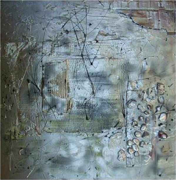 Mixed Media.assemblage Art Print featuring the mixed media .........mixed Media........ by Wiola Anyz