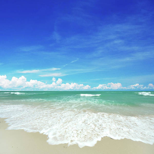 Tranquility Art Print featuring the photograph Beach by Photo By Arztsamui