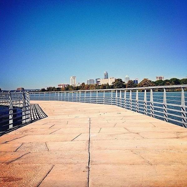 Art Print featuring the photograph Boardwalk Preview by Things To Do In Austin Texas