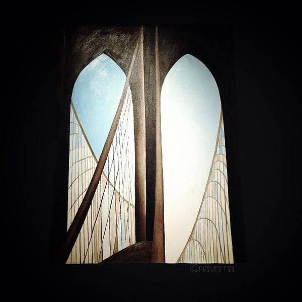 Art Print featuring the photograph 'brooklyn Bridge' By Georgia by Natasha Marco