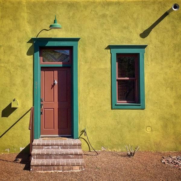 Shadow Art Print featuring the photograph Closed Door Of House by Joseph Cyr / Eyeem