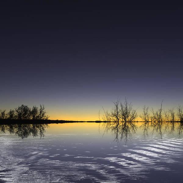 Sunset Art Print featuring the photograph 201111107-004o1 Edge Of The World 1 by Alan Tonnesen