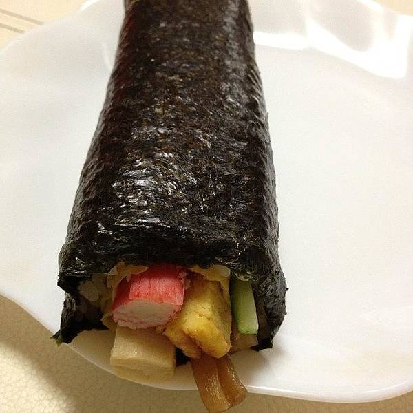 Art Print featuring the photograph Eho Maki Yummy by Tokyo Sanpopo