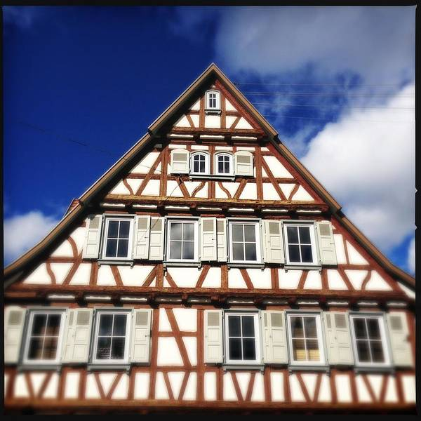 Half-timbered Art Print featuring the photograph Half-timbered house 03 by Matthias Hauser