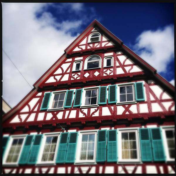 Half-timbered Art Print featuring the photograph Half-timbered house 04 by Matthias Hauser