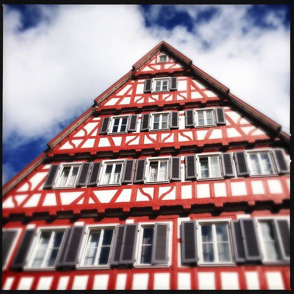 Half-timbered Art Print featuring the photograph Half-timbered house 06 by Matthias Hauser