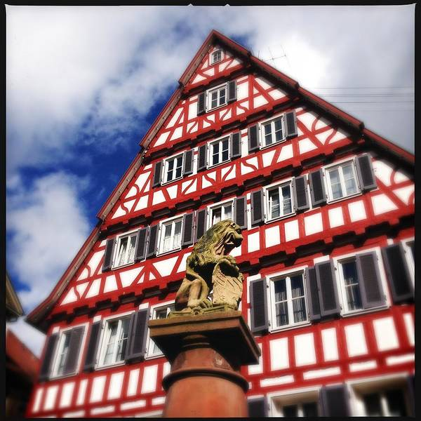 Half-timbered Art Print featuring the photograph Half-timbered house 07 by Matthias Hauser
