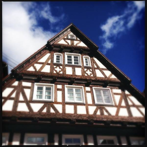 Half-timbered Art Print featuring the photograph Half-timbered house 08 by Matthias Hauser