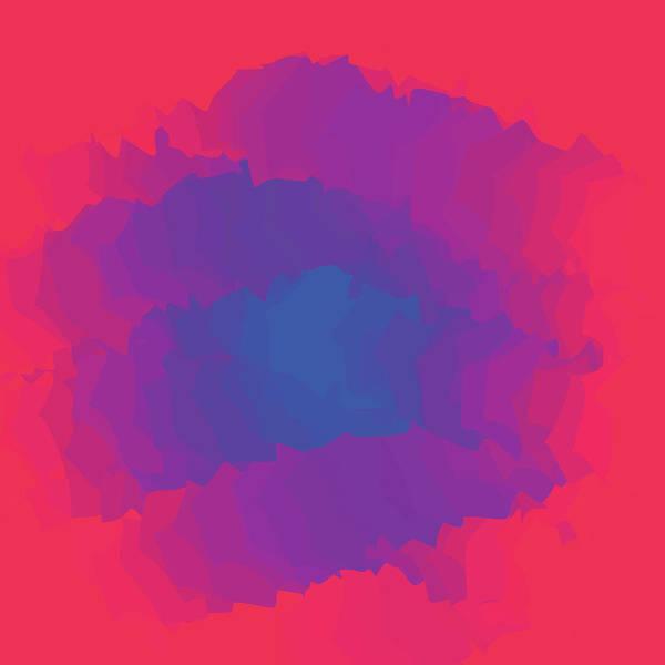 Presentation Art Print featuring the digital art Inferno Background by Calvindexter