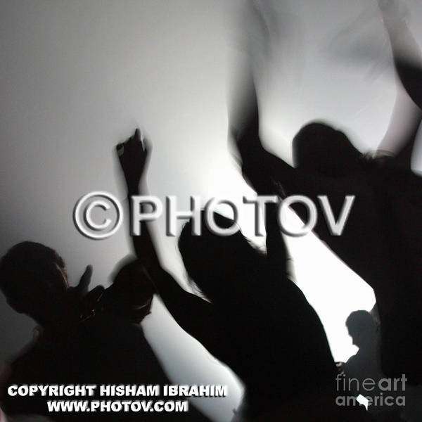 Grooving Art Print featuring the photograph Live To Party - Limited Edition by Hisham Ibrahim