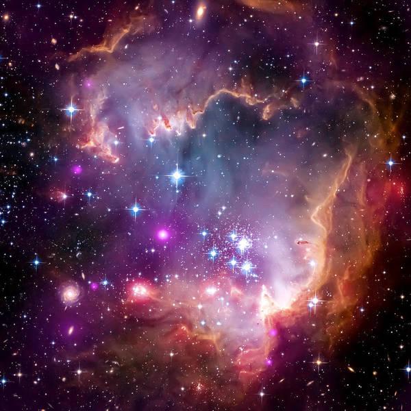 Universe Art Print featuring the photograph Magellanic Cloud 3 by Jennifer Rondinelli Reilly - Fine Art Photography