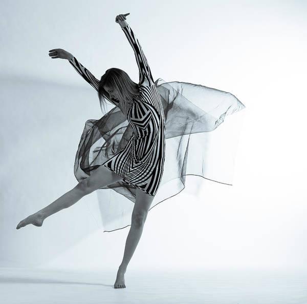 Ballet Dancer Art Print featuring the photograph Photofusion Shoot Jan 2013 by Maya De Almeida Araujo