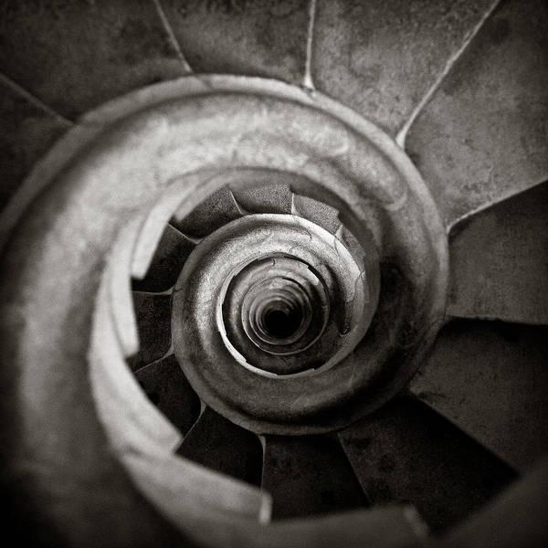 La Sagrada Familia Art Print featuring the photograph Sagrada Familia Steps by Dave Bowman