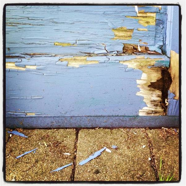 Old Art Print featuring the photograph The Old Door by Christy Beckwith