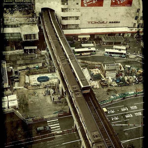 Japan Art Print featuring the photograph #tokyo#landscape#japan by Tokyo Sanpopo