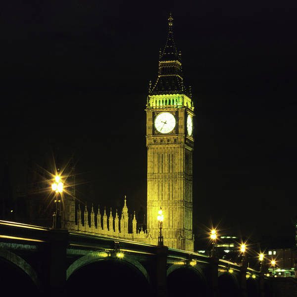 Gothic Style Art Print featuring the photograph Westminster Bridge And Big Ben At by Hisham Ibrahim