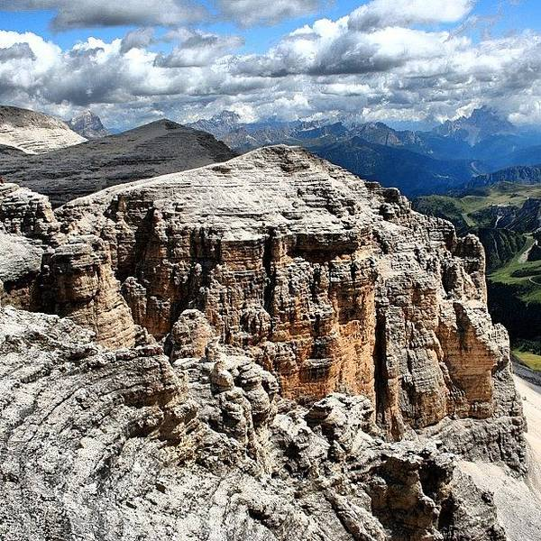 Beautiful Art Print featuring the photograph Dolomites by Luisa Azzolini