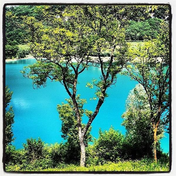 Beautiful Art Print featuring the photograph Lake Of Tenno by Luisa Azzolini