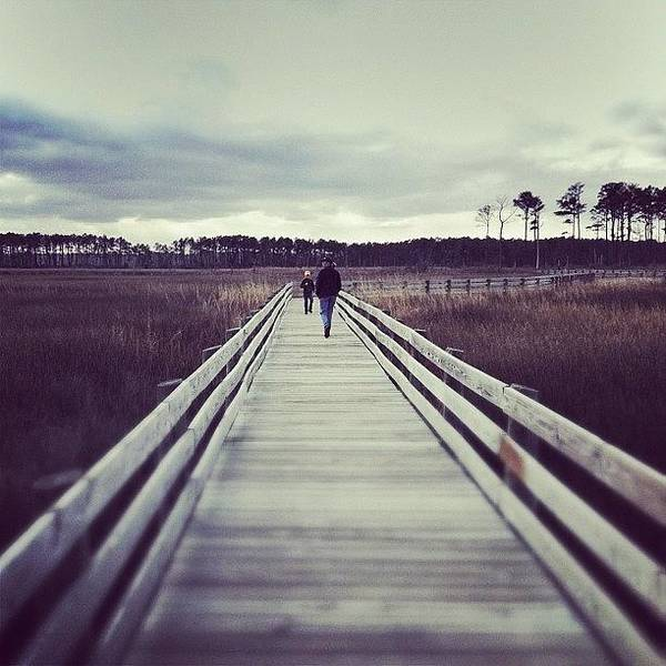 Boardwalk Art Print featuring the photograph Instagram Photo by Dave Edens