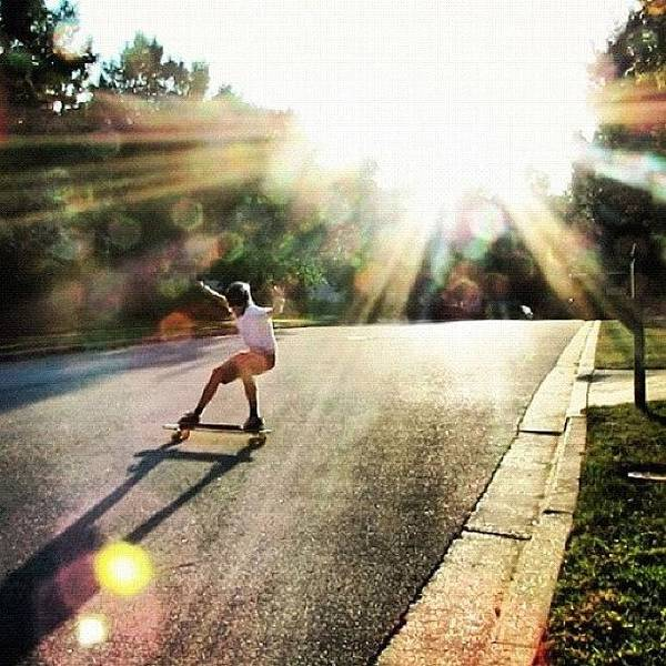 Amazing Art Print featuring the photograph Absolutely Amazing Picture By by Sweden Longboards