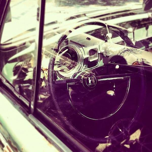 Volkswagon Art Print featuring the photograph Going Places by Gwyn Newcombe