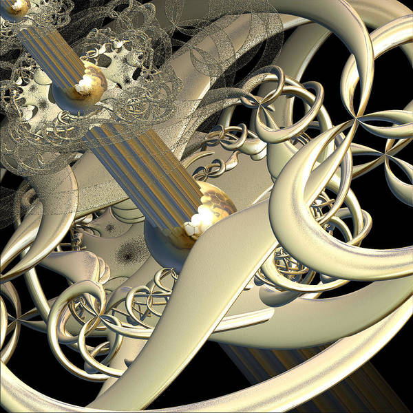 Fractal Art Print featuring the photograph Infinite Complexity by Michele Caporaso