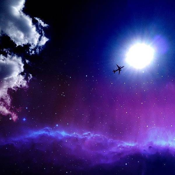Summer Art Print featuring the photograph Into The Nebula by Randy Lemoine